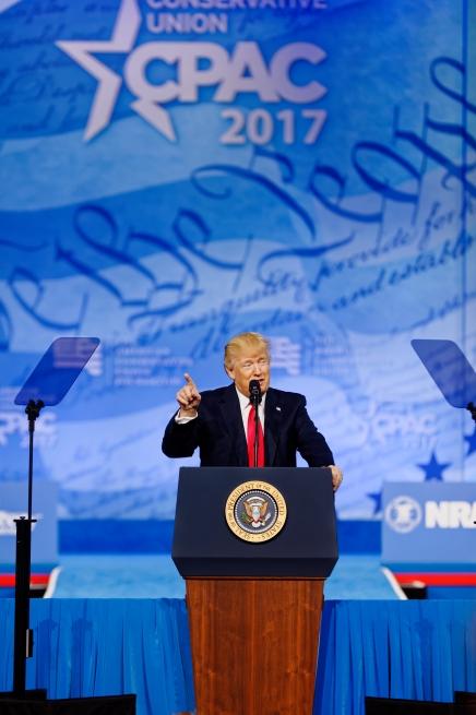 Michael Vadon, Donald Trump at CPAC 2017, February 24, 2017-I