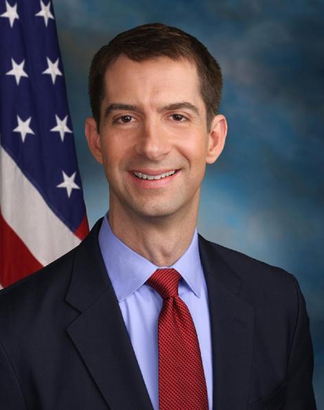 Senator Tom Cotton, R-Ark. (U.S. Congress via Wikimedia Commons)